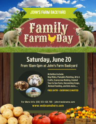 Family Farm Day Flyer