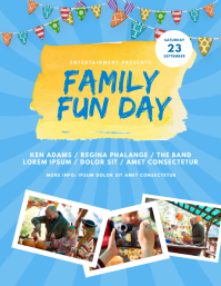 Family Fun Day Flyer Template