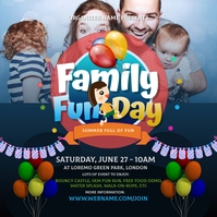 Family Fun Day Instagram Post template