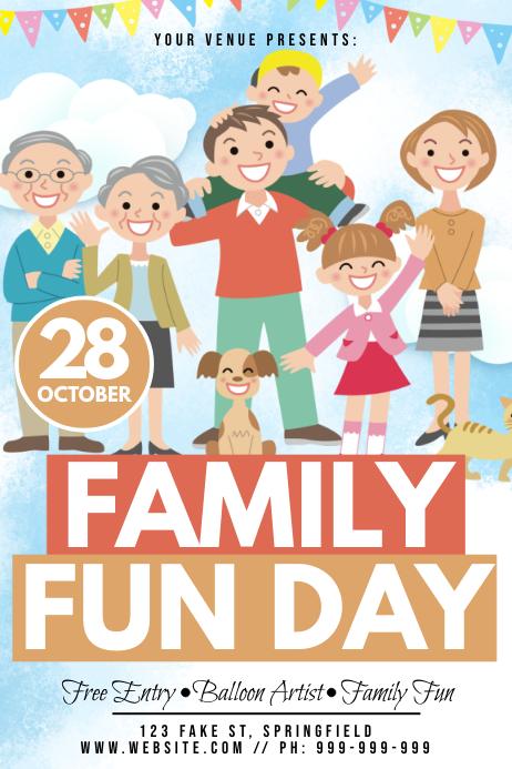 Family Fun Day Poster