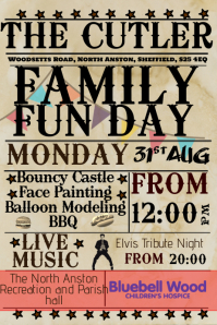 Customizable Design Templates For Family Fun Day Template