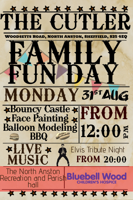 family fun day template postermywall