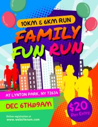 Family Fun Run Flyer