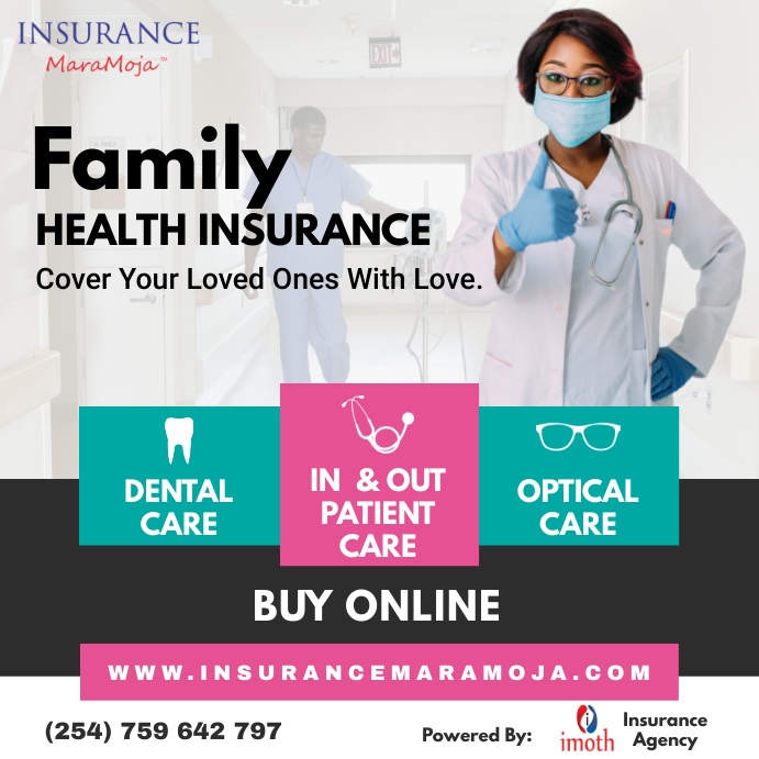 Family Health Insurance โพสต์บน Instagram template