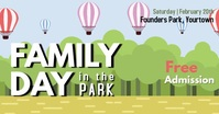 Family Park Event Facebook Post template
