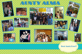 Family Collage Poster Template