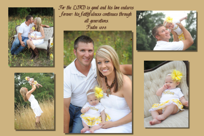 Family Photo Collage Template