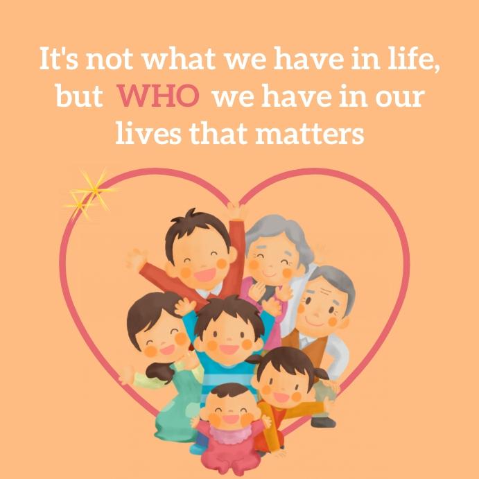 Family quote positivity motivation