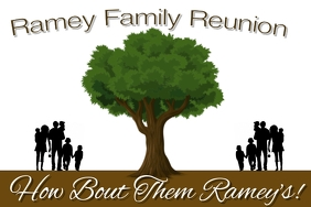 Family Reunion Ishidi elingu 4' × 6' template