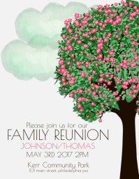 Captivating Family Reunion Pertaining To Family Reunion Flyer