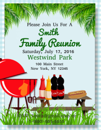 Family Reunion  Family Reunion Flyer
