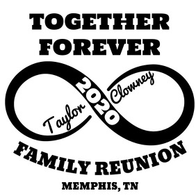 Family Reunion Logo Logotipo template