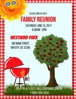 Customizable design templates for family reunion postermywall family reunion stopboris Images