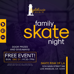 Family Skate Night