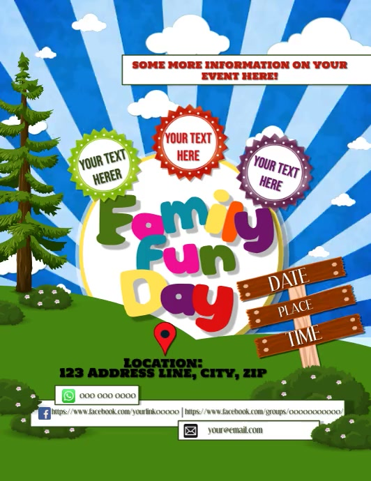 Family Summer Fun Day Event