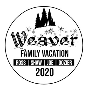 Family Vacation Logo (Winter)