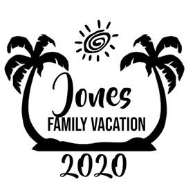 Family Vacation Logo