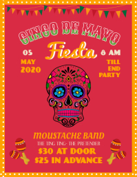 Fancy Cinco De Mayo Party Template