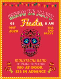 Fancy Cinco De Mayo Party Template