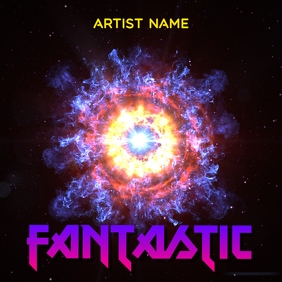 Fantastic album art template