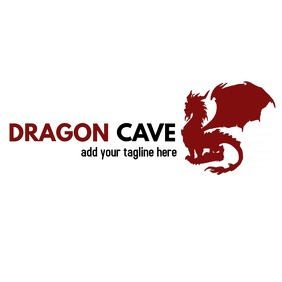 fantasy dragon logo
