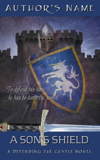 Fantasy Ebook Cover - Son's Shield Kindle/Book Covers template