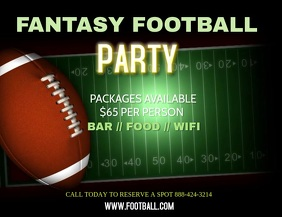 FANTASY FOOTBALL FOOTBALL PARTY