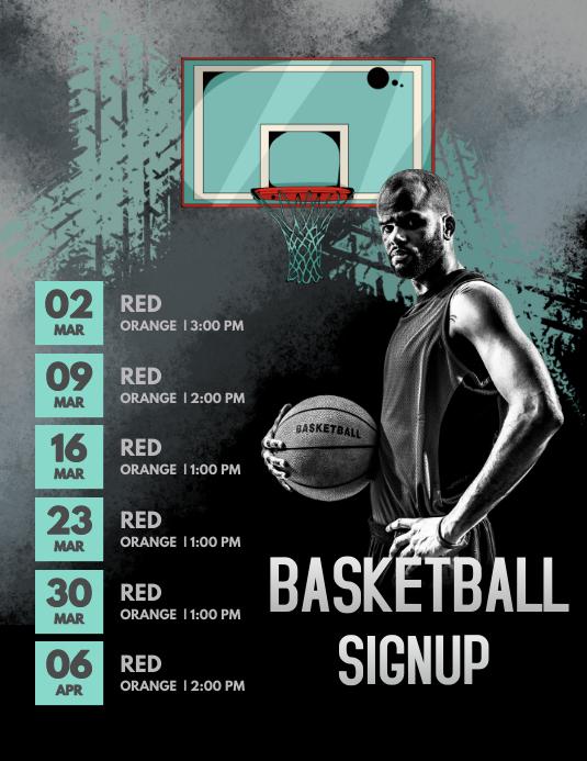 Basketball Signup