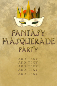 fantasy masquerade party