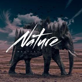Fantasy Nature Mixtape Cover Art