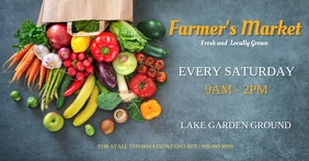 farmer's market Facebook Ad template