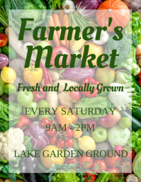 farmer's market Flyer (US Letter) template