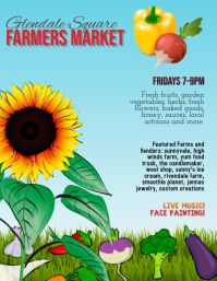 Farmer's Market Farm Stand Flyer