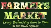 Farmer's Market Instagram Post Template Digital Display (16:9)