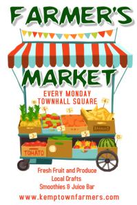 Farmer's Market Poster Template