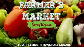 Farmer's Market Video Ad Template