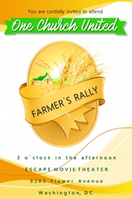 Farmer's Rally Flyer