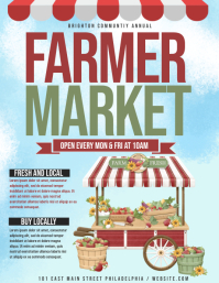 farmer market Flyer (US Letter) template