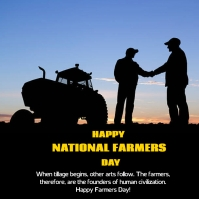 farmers day Pos Instagram template