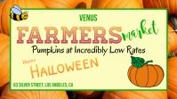 Farmers Market, Pumpkin Sale Ekran reklamowy (16:9) template