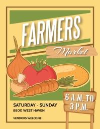 FARMERS MARKET Flyer (US Letter) template