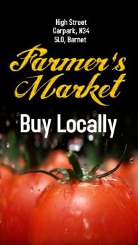 Farmers Market Instagram Post