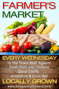 Farmers Market Poster Template
