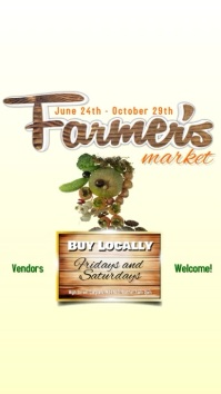 Farmers Market Video Invitation