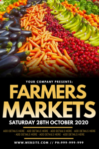 Farmers Markets Poster