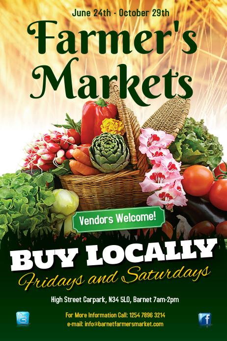 Farmers Markets Poster