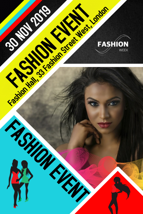 Fashion, Event Poster, Flyer