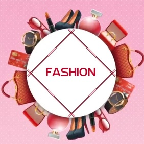 FASHION ACCESSORIES VIDEO LOGO SOCIAL MEDIA template