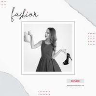 Fashion Ad Instagram Album Cover template