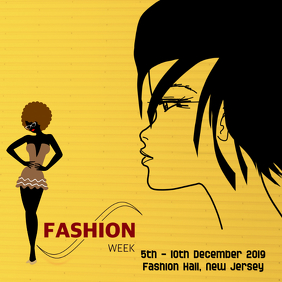 fashion Album Cover, poster flyer